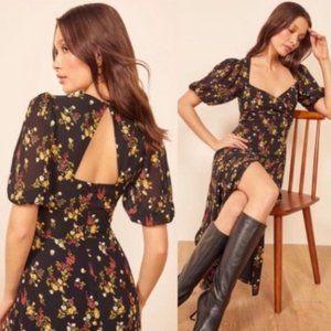 Reformation wildflower vionette floral midi dress